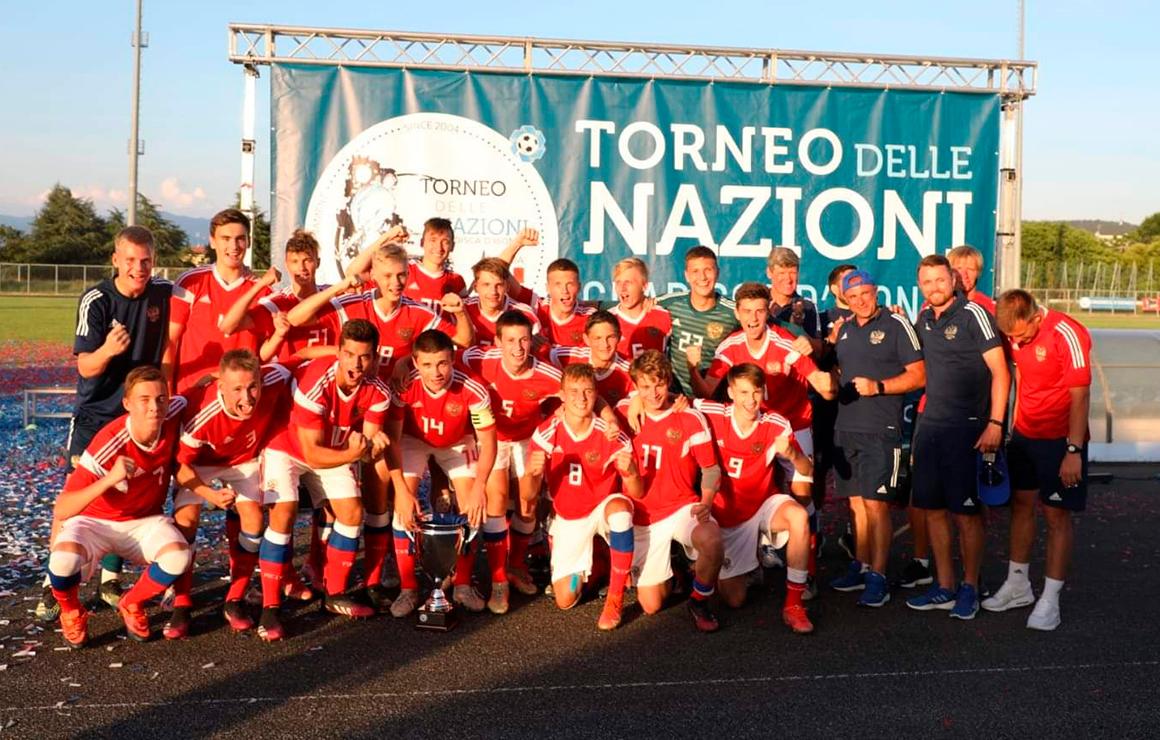 Семь зенитовцев в составе юношеской сборной России U-16 выиграли турнир «Делле национи»