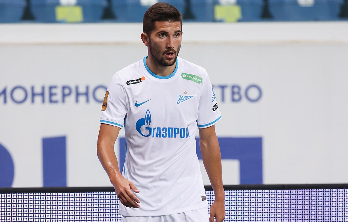 «Локомотив» — «Зенит»: Сутормин реализовал пенальти на 85-й минуте матча