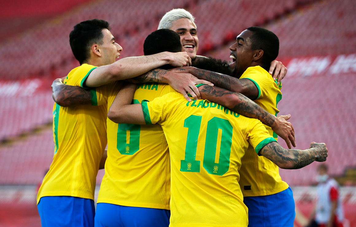 Малком вошел в состав сборной Бразилии для участия в Олимпиаде