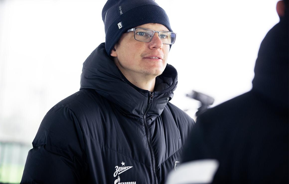 Андрей Аршавин: «Мне проще оценить ребят, если работаю вместе с ними на поле»